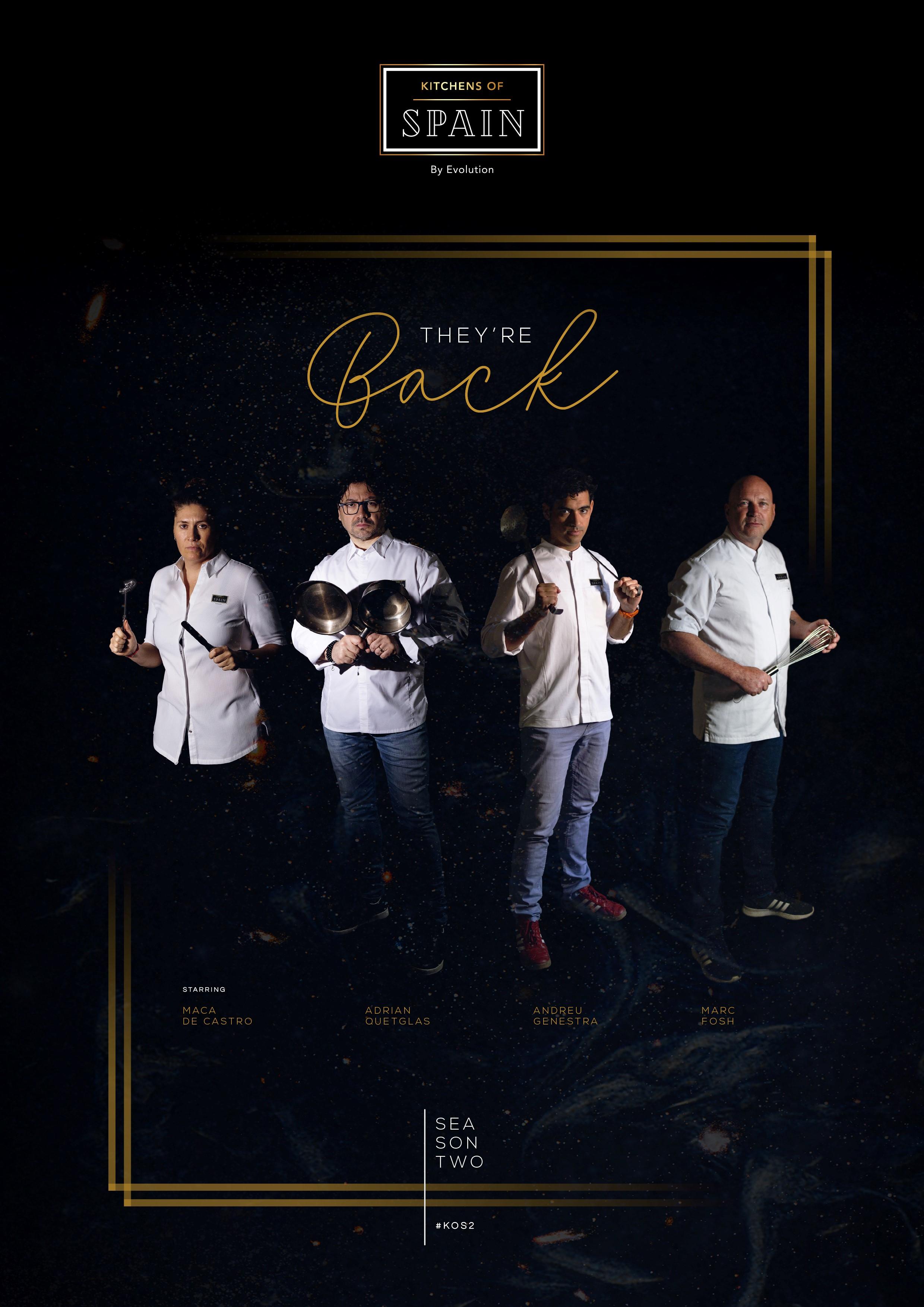 Michelin Starred Chefs are back